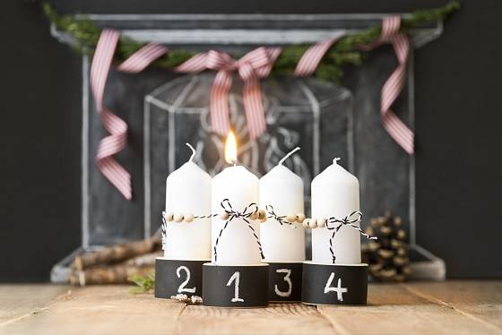 Svíčky s čísly