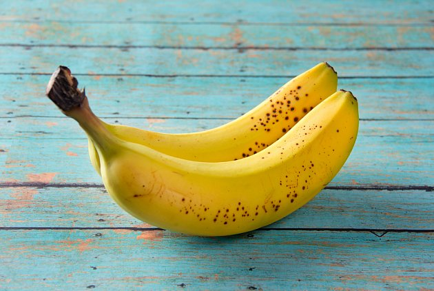 Nejchutnější jsou plně vyzrálé banány.