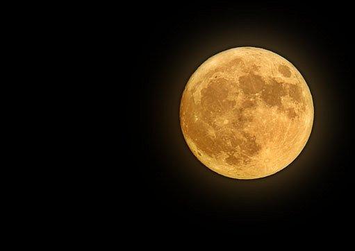 noc, měsíc