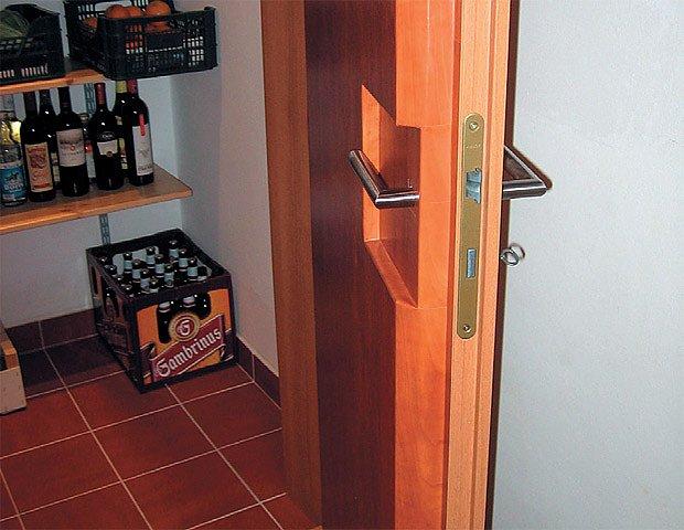 zateplené dveře