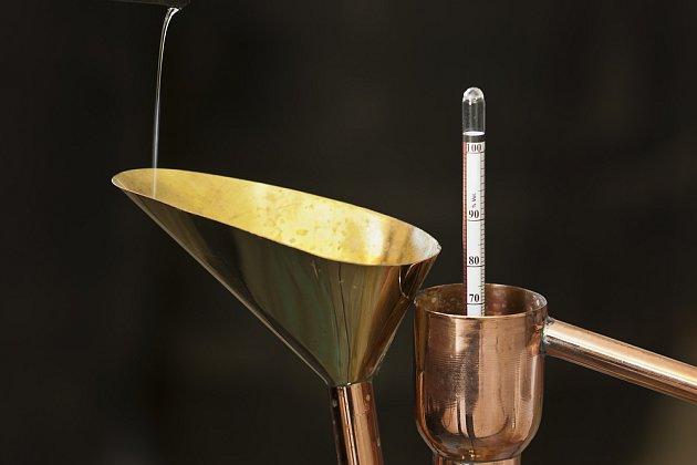 měření obsahu alkoholu