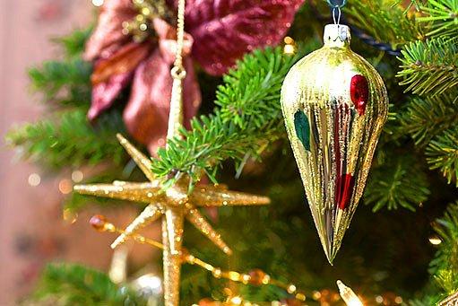 vánoční stromek, ozdoby