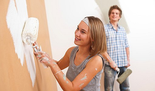 malování stěn