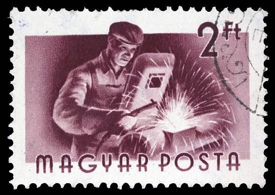 Svářeči mají i své poštovní známky