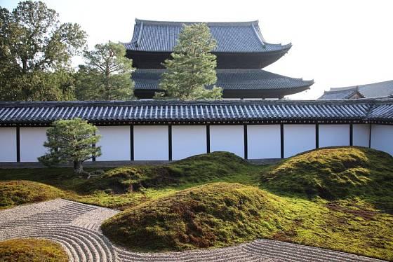 Japonská zenová zahrada Tofuku-ji