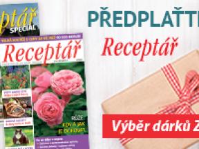 Předplatné časopisu Receptář