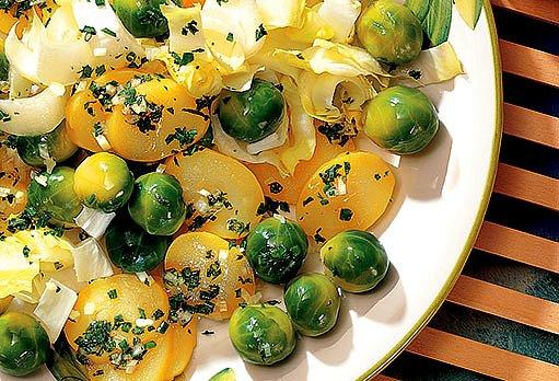 Bruselský bramborový salát