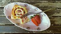Strawberry buns, skvělý moučník z jahod