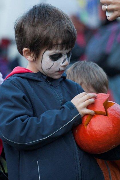 oslava Halloweenu