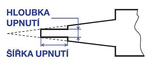 úprava pilníku pro upnutí do přímočaré pily