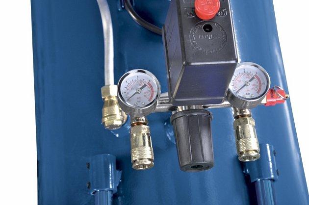 Detail ukazatelů tlaku