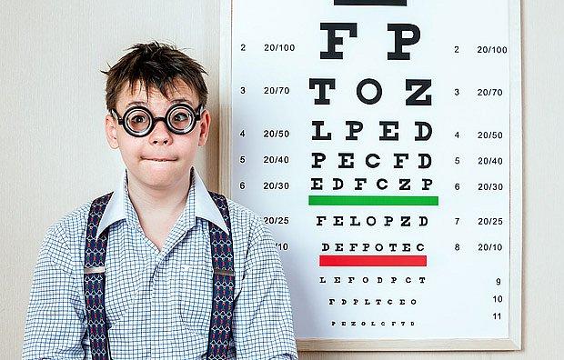 školní krátkozrakost