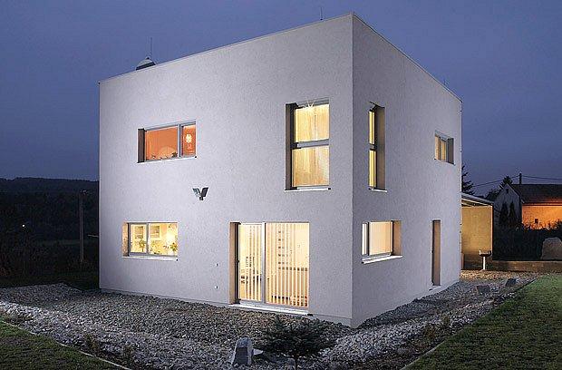 pasivní dům z vápenopískových cihel