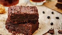 Brownies z fazolí