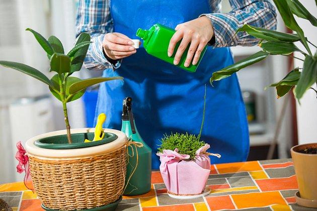 Přípravky určené k postřiku rostlin dávkujte podle návodu