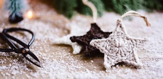 Hvězdičky patří k typickým vánočním symbolům.