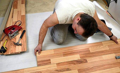 laminátová plavoucí podlaha