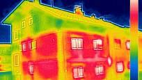 Teplo uniká z domu různými způsoby