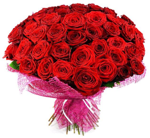 Rudé růže jsou osvědčená klasika. Velká kytice ale stojí kolem 7000 korun...