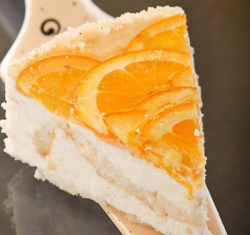 Pomerančový dort