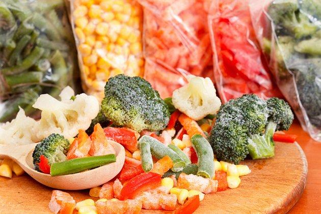 Zeleninu zblanšírujte a rychle zamrazte