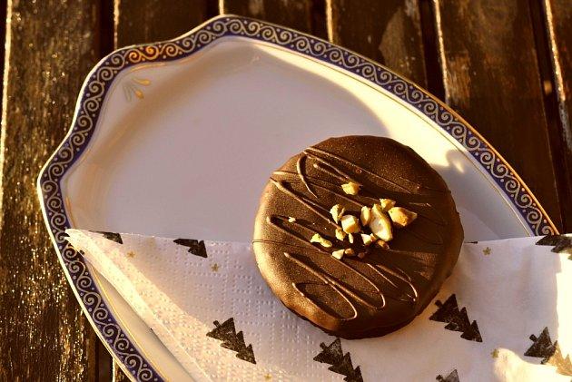 Išlské dortíčky patří mezi oblíbené vánoční cukroví.
