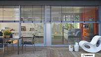 Žaluzie mohou být i elegantním prvkem vašeho interiéru.