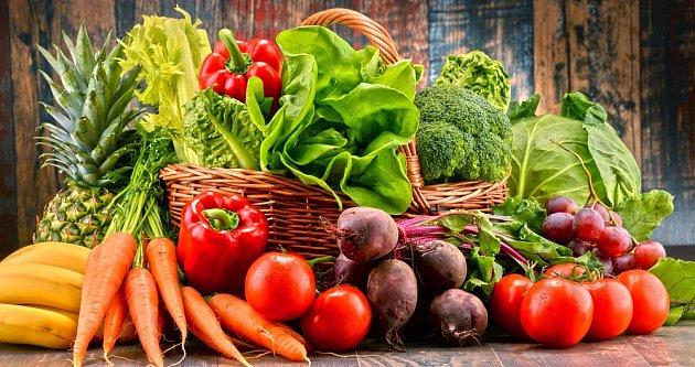 Pestrá nabídka zeleniny