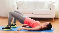 Posílení spodního břicha a pánevního dna