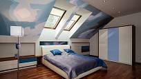 Pozorovat hvězné nebe přímo z postele je romantické