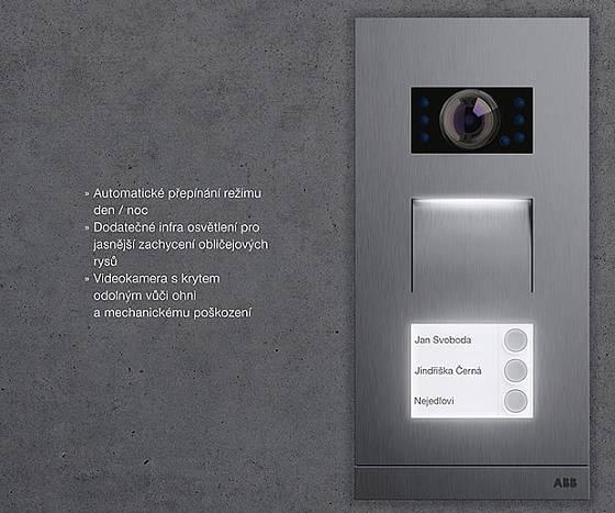 kamera domovního telefonu