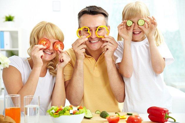 Čerstvá zelenina do jídelníčku patří