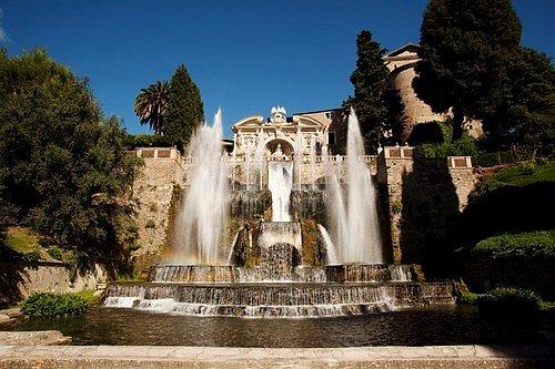 Villa d'Este, Tivoli, Itálie