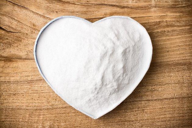 jedlá soda srdce