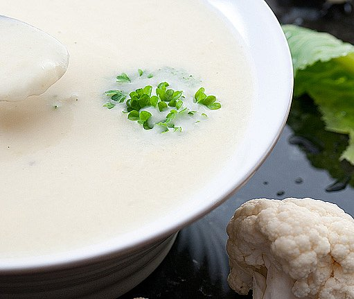 Rybářská květáková polévka