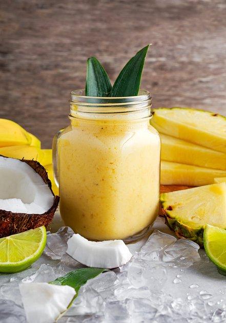 Banánovo-ananasové blaho