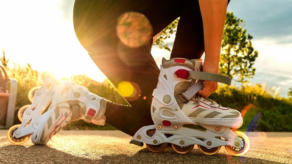 Kolečkové brusle – zbavte se strachu brzdit a padat