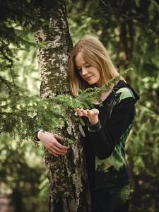Michaela Pavlíková: Příroda nás umí znovu propojit se sebou samými