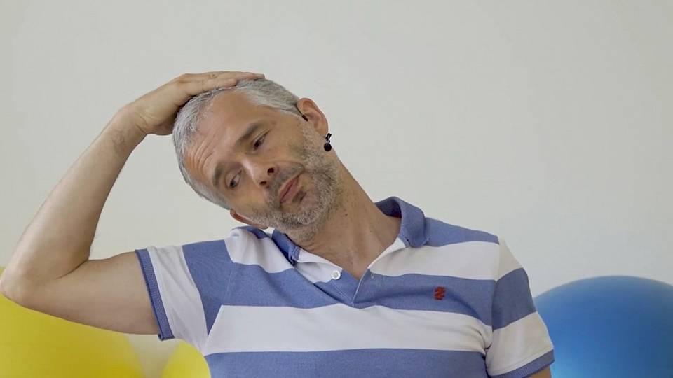 Protažení krční páteře