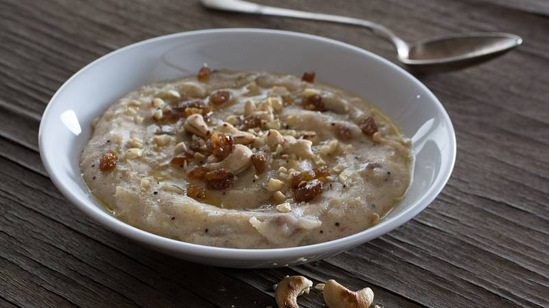 V zimních měsících si dopřejte naší teplou slanou snídani upamu.
