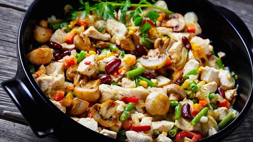 Recept: Trhané kuřecí na mexický způsob