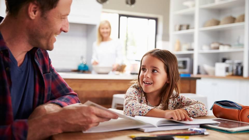 Motivujte děti k domácím úkolům