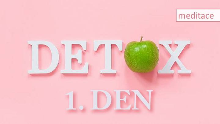 Výzva #21denní jarní detox: 1. den: Meditace