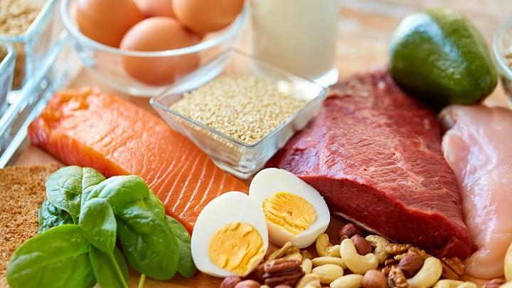 Zdroje bílkovin v jídelníčku