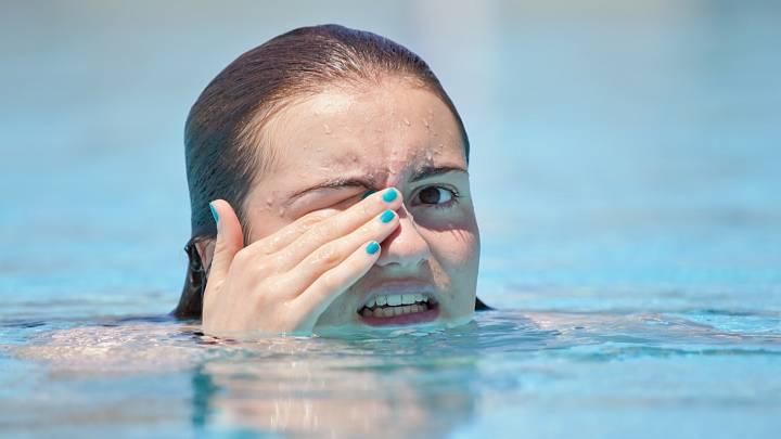 Nepříjemná stránka plavání: chlor (audio)