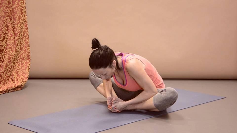 Hatha jóga pro uvolnění kyčlí