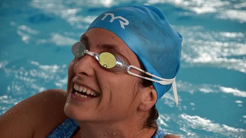 Plavkyně Abhejali Bernardová