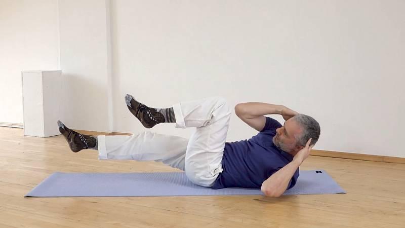 Cviky na posílení středu těla