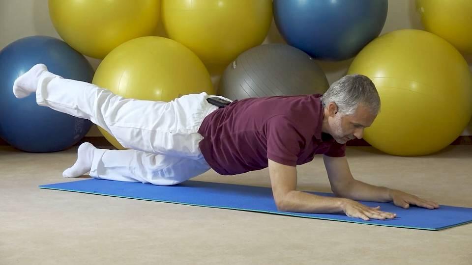 Posílení zádových svalů a středu těla