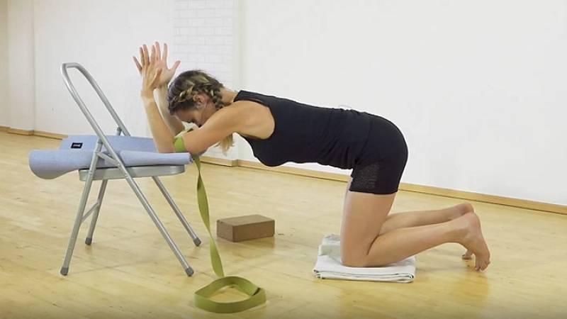 Iyengar jóga: Uvolnění ramen a hrudní páteře